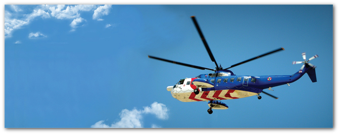 helicopter repair and overhaul services, parts sales, training